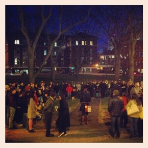 Vigil for Trayvon Martin